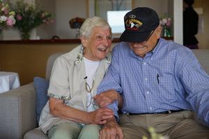 Veteran reunited with wartime girlfriend