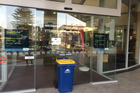 Recycling bin dropped at Council office