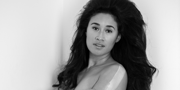 Maria Tutaia has really let her hair down for a glamorous new photoshoot. Photo / Supplied