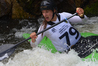 Mount Maunganui's Claudia Paterson was the only Kiwi to podium at the Australian Open canoe slalom championships. PHOTO/GORDON RAYNER