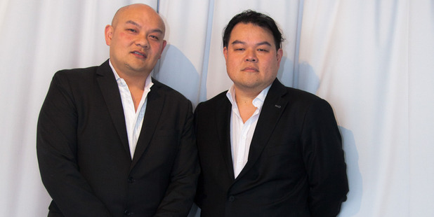 Michael (left) and John Chow say their company will not sell sex. Photo / Supplied