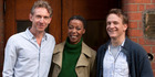 Paul Thornley will play Ron Weasley, Noma Dumezweni will be Hermione Granger and Jamie Parker, Harry Potter in Harry Potter and the Cursed Child. Photo / Supplied