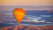 Hot air balloon is a novel way to see the Gold Coast Hinterland, but landings aren't always smooth.