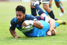 George Moala could form a strong partnership with Rene Ranger. Photo / Photosport