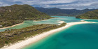 The $2 million target to buy Awaroa Beach in Abel Tasman National Park has been reached but time will tell whether it remains in Kiwi hands. Photo / Supplied