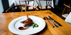 The duck leg from Cocoro restaurant in Ponsonby. Photo / Dean Purcell.