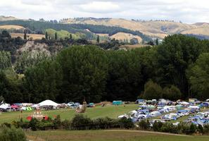BIGGEST EVER: More than 1400 people attended Kiwiburn last week. PHOTO/ STUART MUNRO