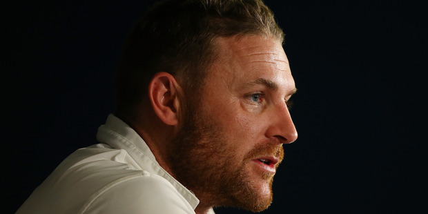 Brendon McCullum will become the first cricketer to play 100 tests from debut. Photo / Getty