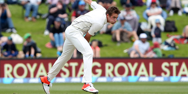 Tim Southee is confident of wearing the whites when the Black Caps face Australia. Photo / Getty