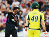 Ish Sodhi of the Black Caps celebrates the wicket of Steve Smith of Australia during the 3rd One Day International cricket match. Photo / Getty Images.