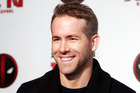 Canadian actor Ryan Reynolds. Photo / AP