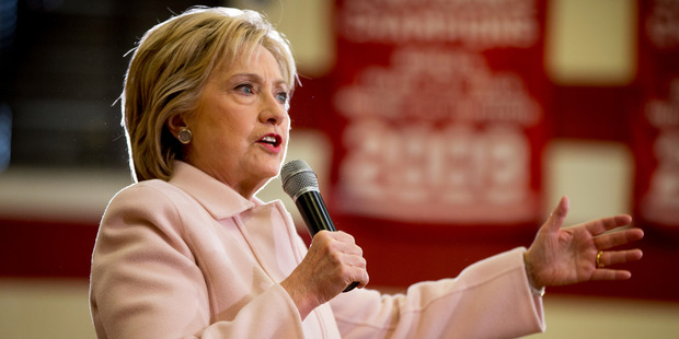 Hillary Clinton has the experience to do the job, Gattung says. Photo / AP