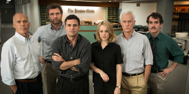 Spotlight is in cinemas now. Photo / Supplied