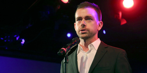 Chief Executive of Twitter Jack Dorsey says the shares dip was temporary. Photo / AP