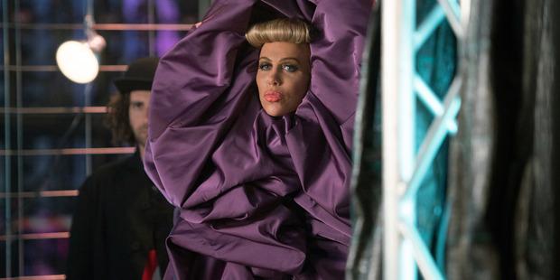 Kristen Wiig portrays Alexanya Atoz in a scene from, Zoolander 2. Photo / AP
