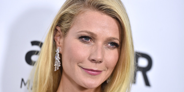 Actress Gwyneth Paltrow. Photo / AP