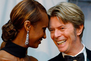 Iman has posted on social media for the first time since her husband David Bowie died.
