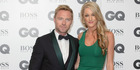 Ronan Keating and Storm Uechtritz married last year. Photo / AP