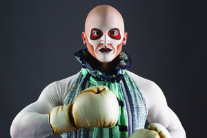 Complaint after volunteer 'manhandled' by Cirque clown