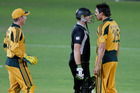 Yellow and red cards for cricket?