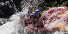 Mangaweka is a gateway town to the Rangitikei River, which is perfect for white water rafting. Photo / NZME