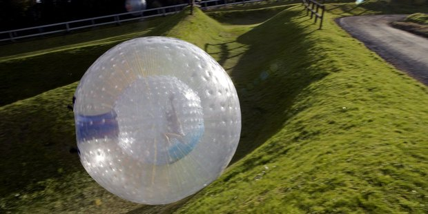 Zorb Rotorua, has been closed down by WorkSafe New Zealand until it complies with adventure activity regulations.  Photo/File