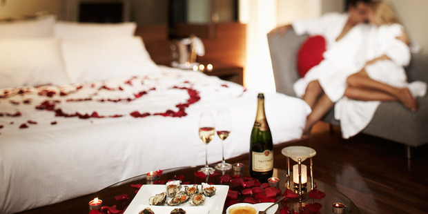 When it comes to romantic getaways, Kiwis love the special touches. Photo / Supplied