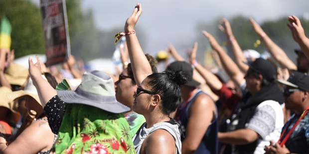 Music fans gather at the One Love Festival. Photo/George Novak