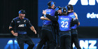 The Black Caps' tails are up after their victory in the one-day series. Photo / Alan Gibson