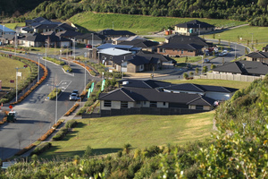 A new subdivision in the Bay of Plenty. Tauranga values have gone up 21.8 per cent in the past years, says valuer QV. Photo / Bay of Plenty Times