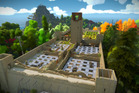 A scene from the Playstation 4 game The Witness.