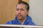 Turei Rawiri Kingi is in the dock at the District Court for the crime in London St. name is SUPPRESSED Hamilton 11 August 2015 New Zealand Herald Photograph by David Kerr.