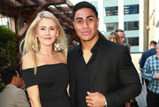 All Black pin-up Malakai Fekitoa has split with his partner Caroline McNaught. Photo / Norrie Montgomery