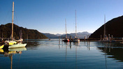 Picton's pretty harbour. Photo / NZME.
