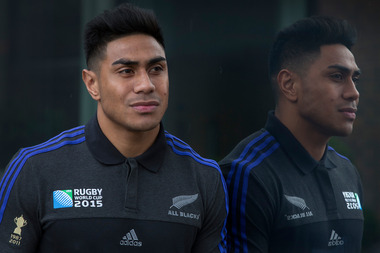 New Zealand All Blacks centre Malakai Fekitoa, at the team hotel, after the announcement of the All Blacks team for their second Pool C match against Namibia, held at Queen Elizabeth Olympic Stadium,