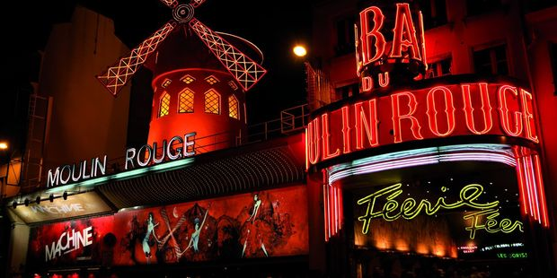 The infamous Moulin Rouge in Paris. Photo / Supplied
