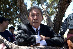 NZ First leader Winston Peters claims that police are overstretched.