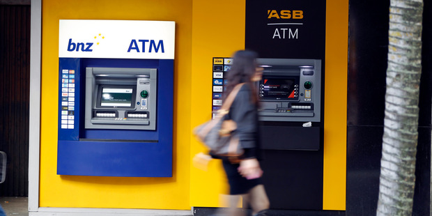 Shares in the big four Aussie banks all fell by 4 to 5 per cent yesterday. Photo / NZME