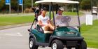 Golf: Dagg tests shoulder during swing with Ko