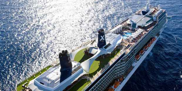 The Celebrity Solstice.