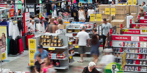 The Warehouse last month forecast an up to 21 per cent jump in adjusted net profit for the six months to January 31. Photo / NZME