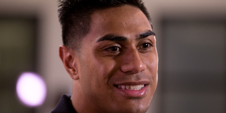 All Blacks midfielder Malakai Fekitoa opened up about his anger issues. Photo / Mark Mitchell