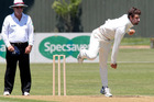 Cricket: Wickets tumble in Plunket Shield