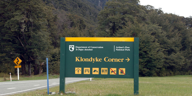 A group of tourists on their way to the airport had their car keys taken by a member of the public near Arthur's Pass today. Photo / NZPA