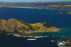 Motukawaiti Island  is back on the market with the price listed as negotiable. Photo / Stephen Western