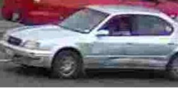 Hawke's Bay police are seeking information about this car's passengers, who are believed to have witnessed a fatal crash in January.