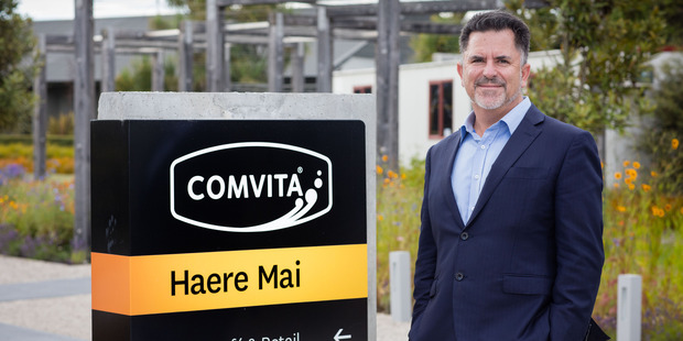 New Comvita chief executive Scott Coulter is driven by a passion for global consumer markets.