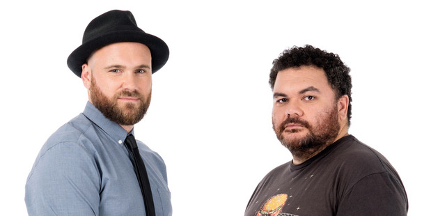 Vaughan Smith and Josh Thomson from WatchMe show Critic and the Pig.