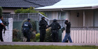 An armed man roaming residential streets Napier sparked a major police callout. Hawke's Bay Today Photograph by Duncan Brown.