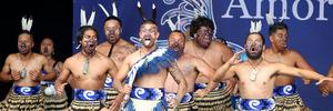 Te Rangiura o Wairarapa competing in the Kahungunu Kapa Haka Regional Competition. Photo / Duncan Brown